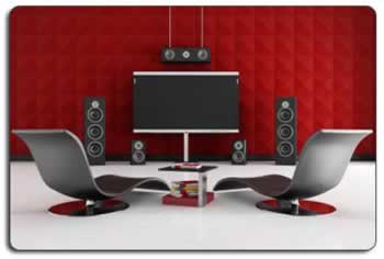 Home Theater Room Sound Solutions Acoustical Wall