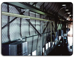 Industrial Noise Control Acoustic Walls with Windows