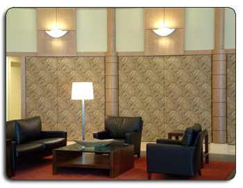 Lobby - Waiting Room - Decorative Sound Solutions Walls