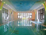 Decorative Walls and Ceilings for Indoor Swimming Pools