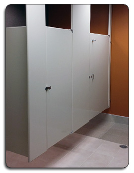 Toilet Partitions Installed Public Restrooms