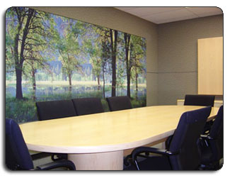 Upholstered Fabrics Art Work Conference Rooms