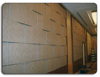 Upholstered Fabric Wall Weave