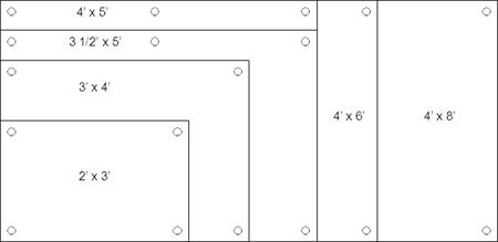 Clarus Glassboard Sizes
