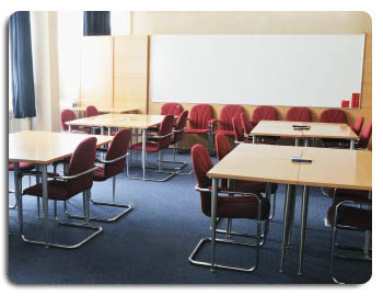 Projection Screens in Board and Meeting Rooms