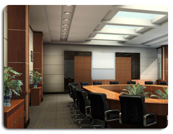 Conference Rooms Meeting Wall Mount Projection Screen