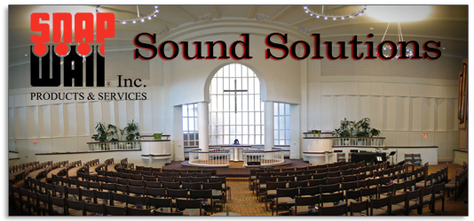 Snap Wall Sound Solutions Systems for Noise Control
